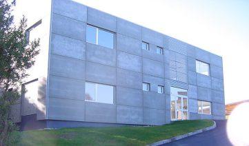 Centro administrativo en Cenero