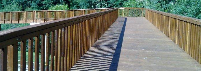 Puente peatonal en Covadonga