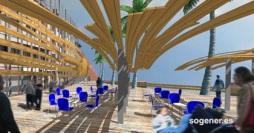 Regeneración del paseo marítimo de Candás