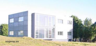 Edificio administrativo en Cenero