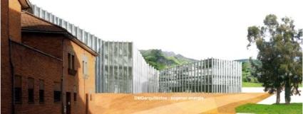 Edificio administrativo en Mieres